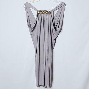 Yigal Azrouel sleeveless ball embellished dress 0
